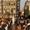 Wedding Ceremony in Progress, Midtown Loft and Terrace Rooftop, Fifth Avenue New York