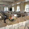 Room Shot, Family Style Seating, NYC Wedding Reception, Midtown Loft and Terrace