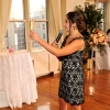 Matron of Honor Toasting Bride and Groom