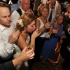Bride and Groom doing Shots with Guests