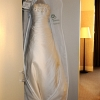 Wedding Dress Hanging, W Hotel Union Sq